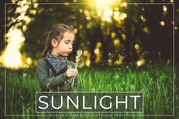 Print on Demand: Sunlight Lightroom Presets Pack Graphic Actions & Presets By Creative Tacos