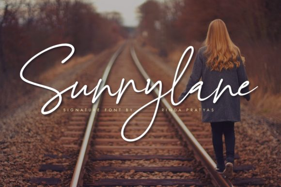 Print on Demand: Sunnylane Script & Handwritten Font By Rinda Pratyas