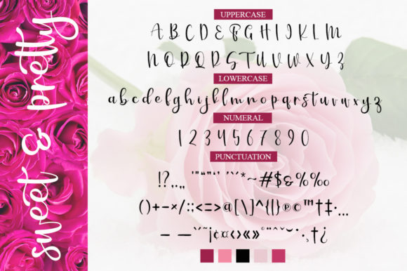 Sweet & Pretty Font By Graphix Line Studio Image 6