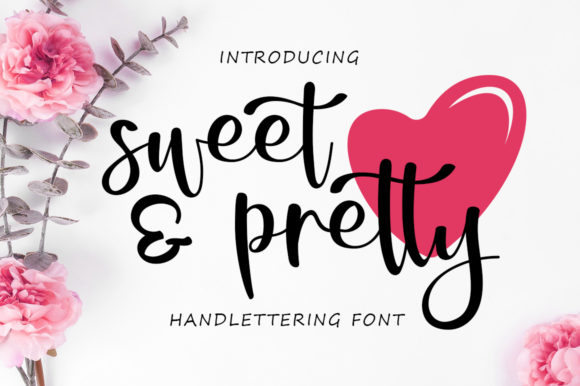 Sweet & Pretty Font By Graphix Line Studio Image 1