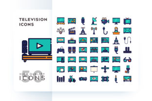 TELEVISION ICON Graphic By Goodware.Std