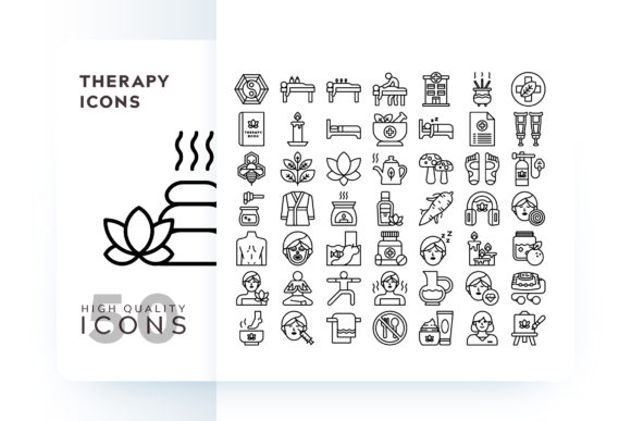 Print on Demand: Therapy Icon Graphic Icons By Goodware.Std