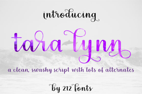 Print on Demand: Tara Lynn Script & Handwritten Font By 212 Fonts