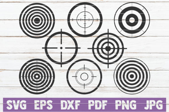 Targets SVG Bundle | Cut Files Graphic Graphic Templates By MintyMarshmallows