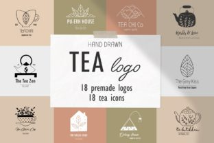 Tea Logo Set Graphic By Alisovna