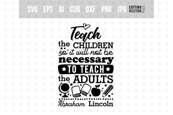 Teach the Children... Graphic Crafts By danieladoychinovashop - Image 1