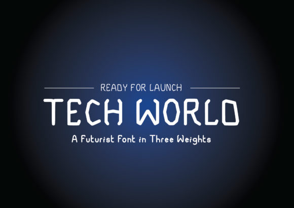 Print on Demand: Tech World Serif Font By GraphicsBam Fonts - Image 1