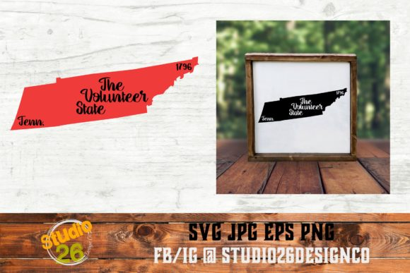 Download Free Tennessee State Nickname Svg Png Eps Graphic By Studio 26 for Cricut Explore, Silhouette and other cutting machines.