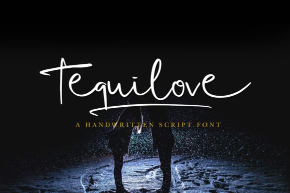 Print on Demand: Tequilove Script & Handwritten Font By Scratch Design