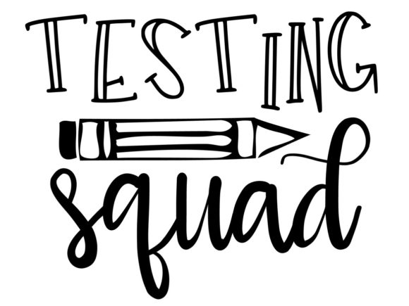 Download Free Testing Squad Graphic By Thesmallhouseshop Creative Fabrica for Cricut Explore, Silhouette and other cutting machines.