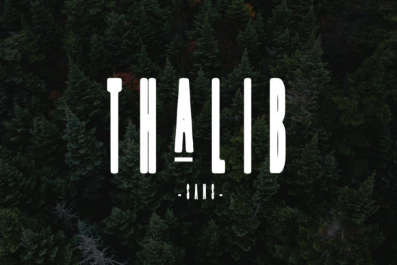 Print on Demand: Thalib Script & Handwritten Font By Arendxstudio - Image 3