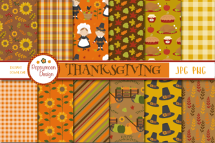 Thanksgiving Paper Graphic By poppymoondesign