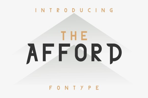 Print on Demand: The Afford Serif Font By EdricStudio - Image 2