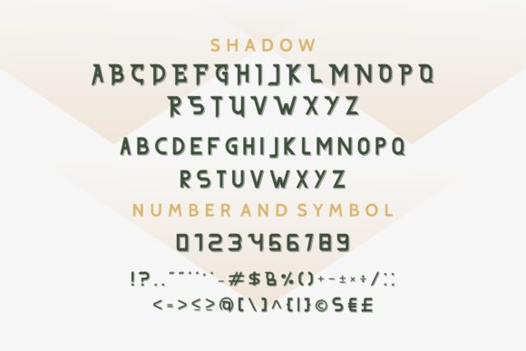 Print on Demand: The Afford Serif Font By EdricStudio - Image 6