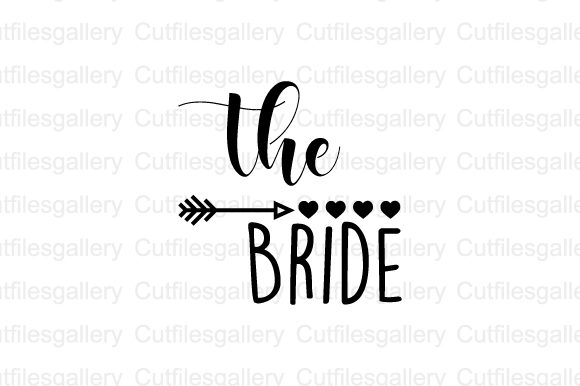 The Bride  Graphic Crafts By cutfilesgallery