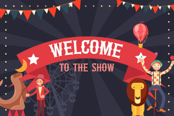 Print on Demand: The Circus Display Font By Salt & Pepper Designs - Image 5