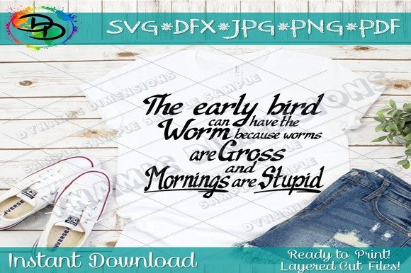Print on Demand: The Early Bird Can Have the Worm Graphic Crafts By dynamicdimensions