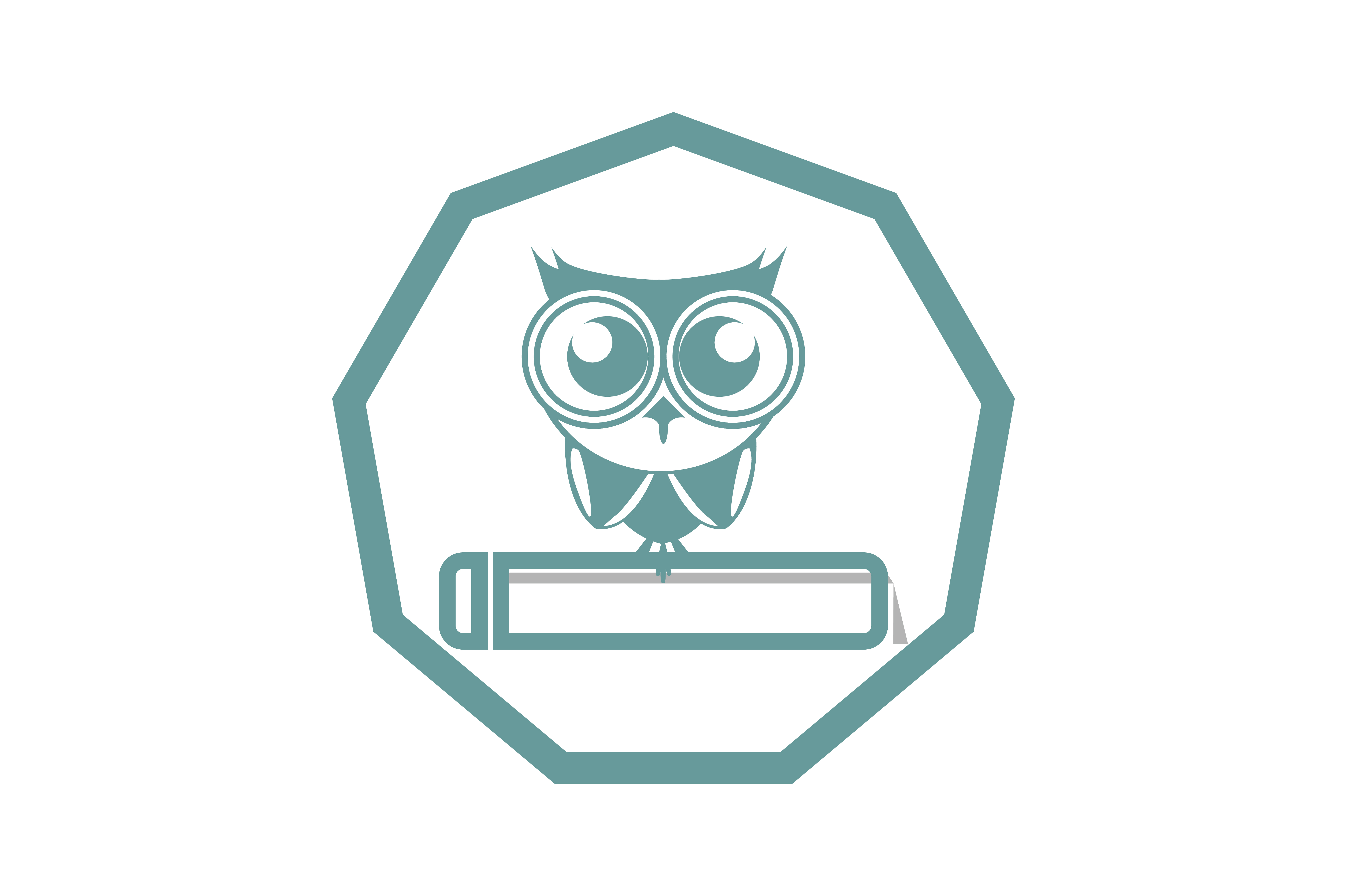 Download Free The Owl And Book Icon Graphic By Yuhana Purwanti Creative Fabrica for Cricut Explore, Silhouette and other cutting machines.