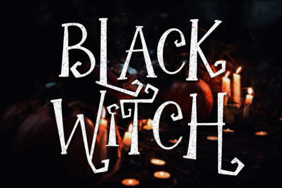 Print on Demand: The Witch Script & Handwritten Font By dmletter31 - Image 3