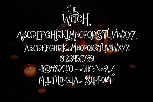 Print on Demand: The Witch Script & Handwritten Font By dmletter31 - Image 6