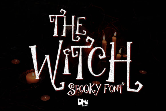 The Witch Script & Handwritten Font By dmletter31