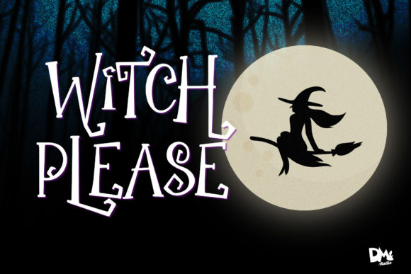 Print on Demand: The Witch Script & Handwritten Font By dmletter31 - Image 7