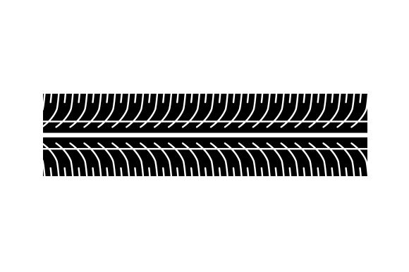 Download Free Tire Tracks Svg Cut File By Creative Fabrica Crafts Creative for Cricut Explore, Silhouette and other cutting machines.