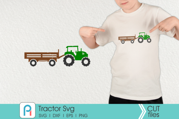 Tractor Clip Art Graphic Crafts By Pinoyartkreatib