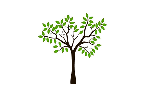 Download Free Tree Icon Graphic By Marco Livolsi2014 Creative Fabrica for Cricut Explore, Silhouette and other cutting machines.