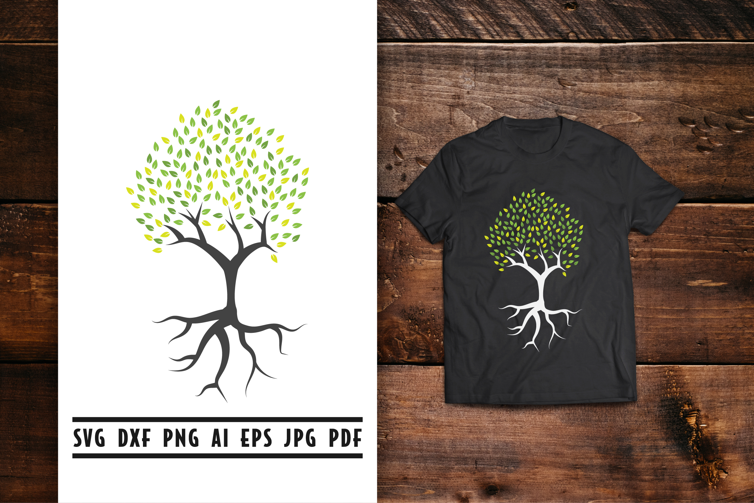 Download Free Tree Graphic By Vectorbundles Creative Fabrica for Cricut Explore, Silhouette and other cutting machines.
