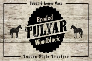 Tulyar Eroded Font By K22 Foundry