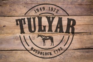 Tulyar Font By K22 Foundry