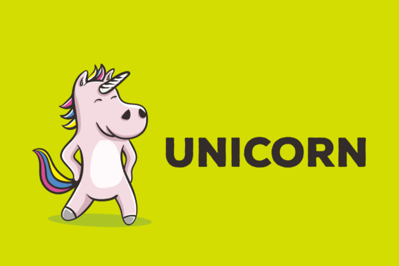 Print on Demand: Unicorn Vector Illustration Artwork Graphic Illustrations By peterdraw