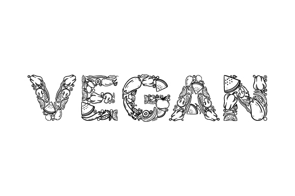 Download Free Vegan Svg Cut File By Creative Fabrica Crafts Creative Fabrica for Cricut Explore, Silhouette and other cutting machines.
