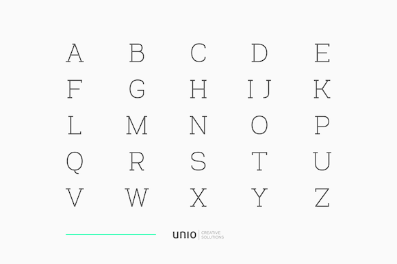 Print on Demand: Venice Family Serif Font By unio.creativesolutions - Image 7