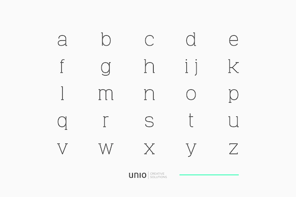 Print on Demand: Venice Family Serif Font By unio.creativesolutions - Image 8