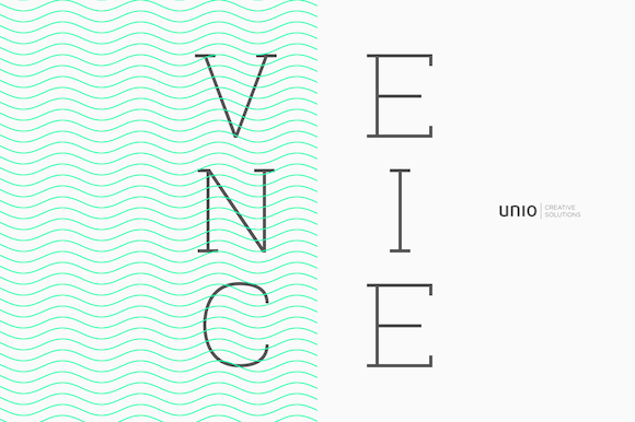 Print on Demand: Venice Family Serif Font By unio.creativesolutions - Image 10