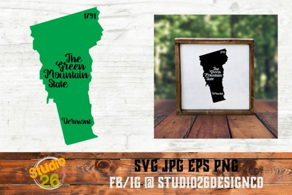 Download Free Vermont State Nickname Svg Png Eps Graphic By Studio 26 for Cricut Explore, Silhouette and other cutting machines.