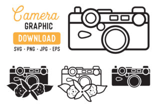 Vintage Camera Graphic Pack Graphic By The Gradient Fox