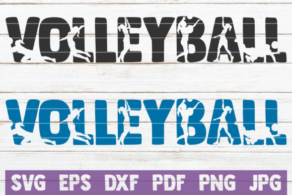 Volleyball  Graphic Graphic Templates By MintyMarshmallows
