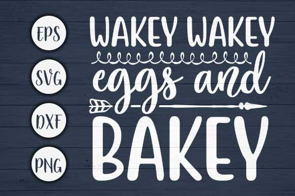 Download Free Wakey Wakey Eggs Farm Svg Cut File Graphic By Creativeart for Cricut Explore, Silhouette and other cutting machines.