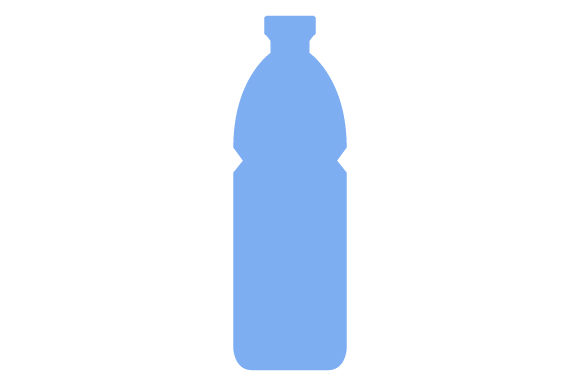 Download Free Water Bottle Icon Grafico Por Marco Livolsi2014 Creative Fabrica for Cricut Explore, Silhouette and other cutting machines.