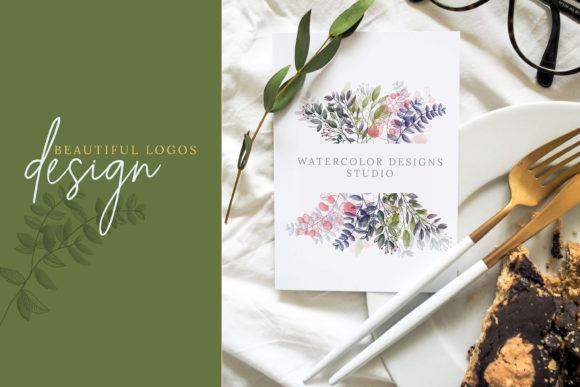 Watercolor Botanical Frames Graphic By 3Motional Image 4