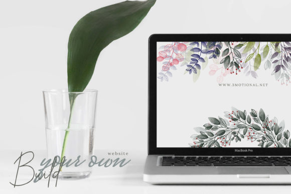 Watercolor Botanical Frames Graphic By 3Motional Image 7