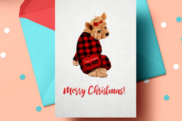 Watercolor Christmas Family Clipart Graphic Illustrations By LeCoqDesign - Image 5