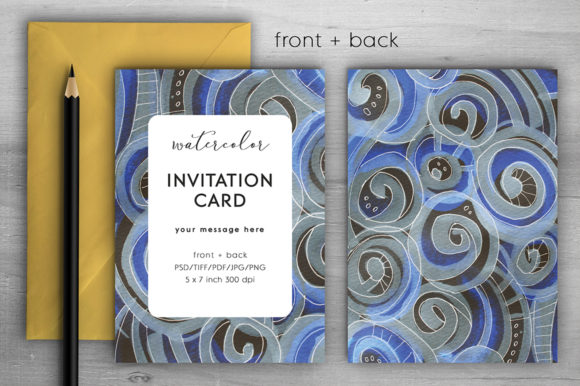 Download Free Memphis Invitation Card Ii Graphic By Margarita Dyakovich for Cricut Explore, Silhouette and other cutting machines.