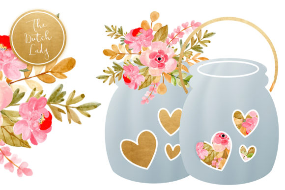 Wedding Day & Marriage Clipart Set Graphic By daphnepopuliers Image 3