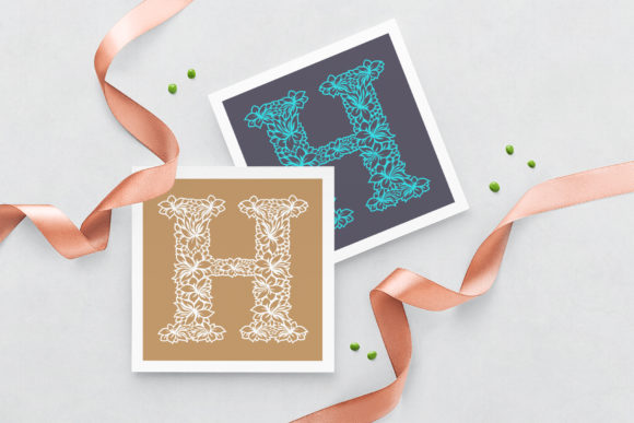 Wedding Letter H - Logo Template Graphic Logos By Textures - Image 3