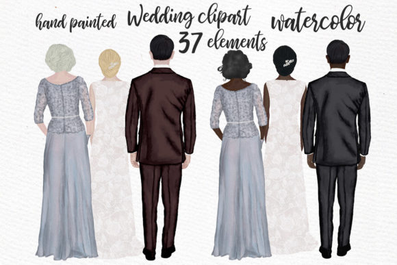 Wedding Graphic Illustrations By LeCoqDesign
