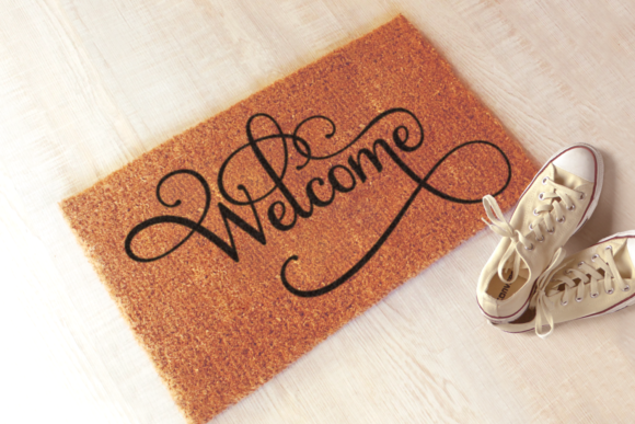 Welcome Losers Funny Doormat Graphic By RisaRocksIt Image 2